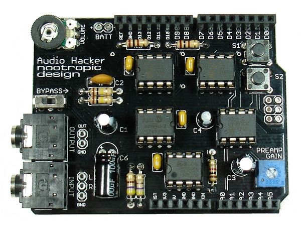 Turn up the Volume With an Audio Hacker Shield