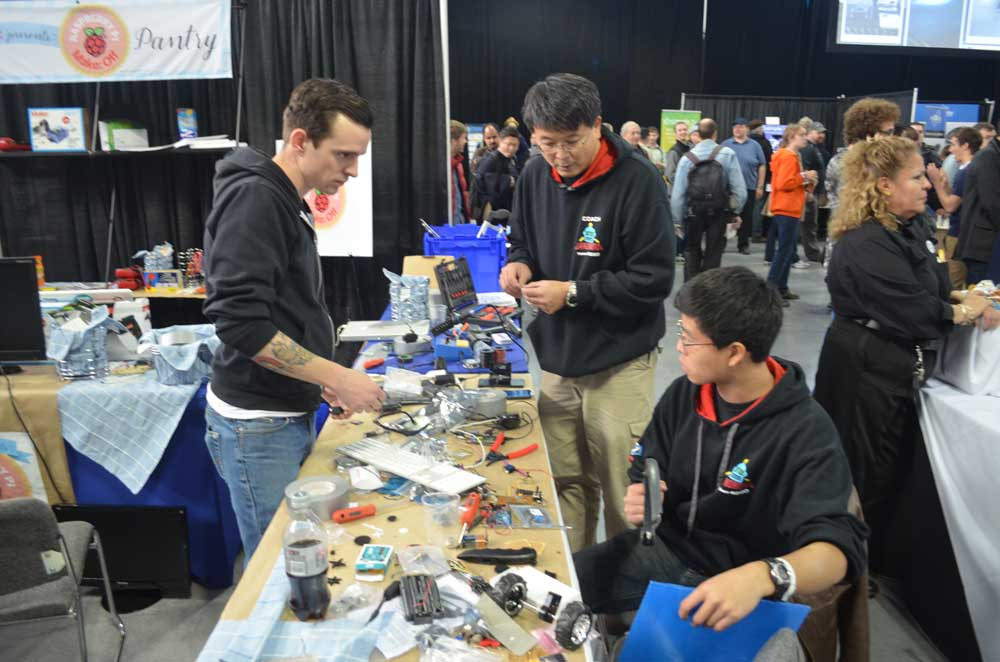 With Ideas Developed, Raspberry Pi Makers Start Creating