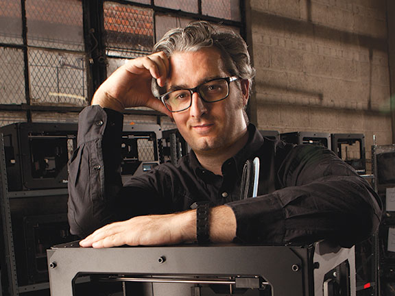 MakerBot's Bre Pettis: Inside the New MakerBot