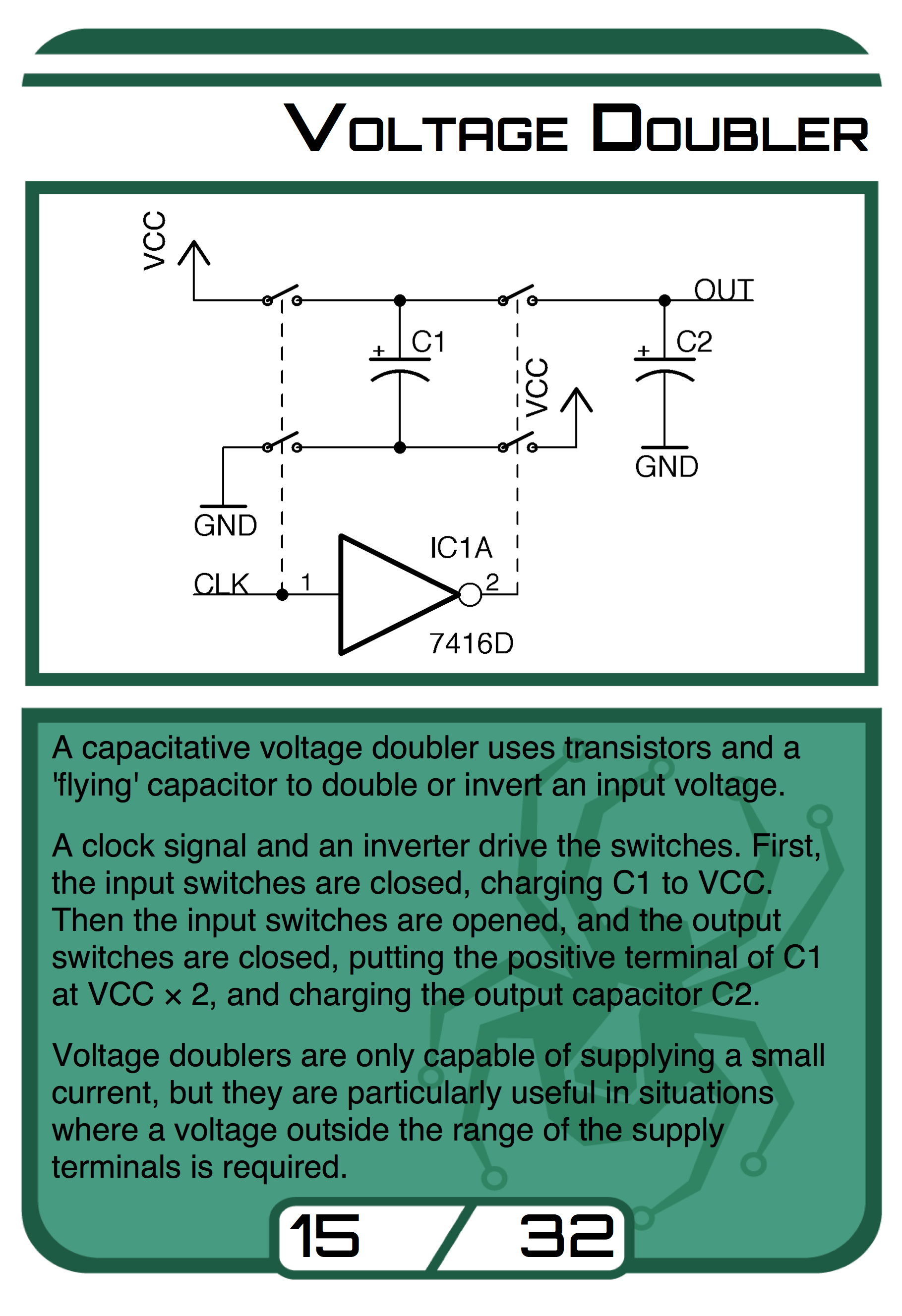 Circuit Pattern Cards Provide a Resource for Tinkerers