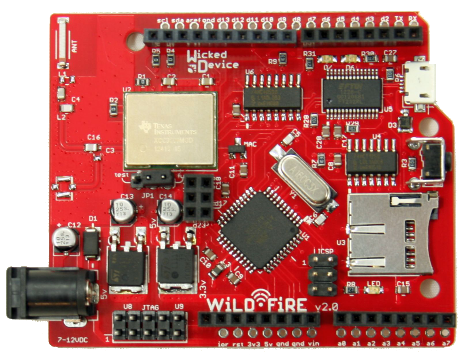 A New WiFi Board Appears: Introducing the WildFire