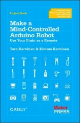 Build a robot that responds to electrical activity in your brain — it's easy and fun. If you're familiar with Arduino and have basic mechanical building skills, this book will show you how to construct a robot that plays sounds, blinks lights and reacts to signals from an affordable electroencephalography (EEG) headband. Concentrate and the robot will move. Focus more and it will go faster. Let your mind wander and the robot will slow down.