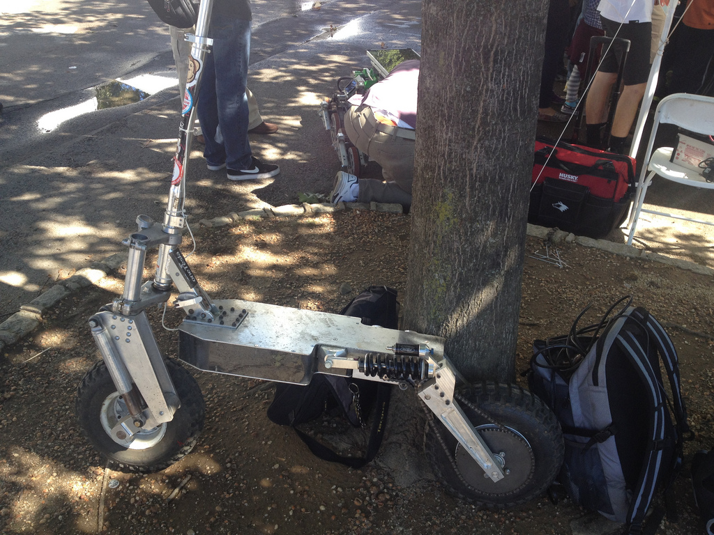 Building an All-Terrain Electric Scooter