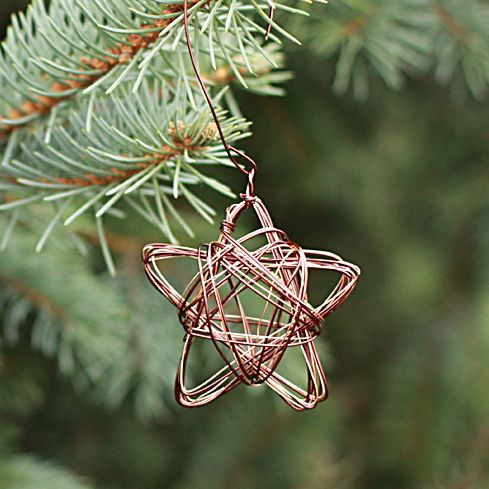 How To: Make Star Wire Ornaments