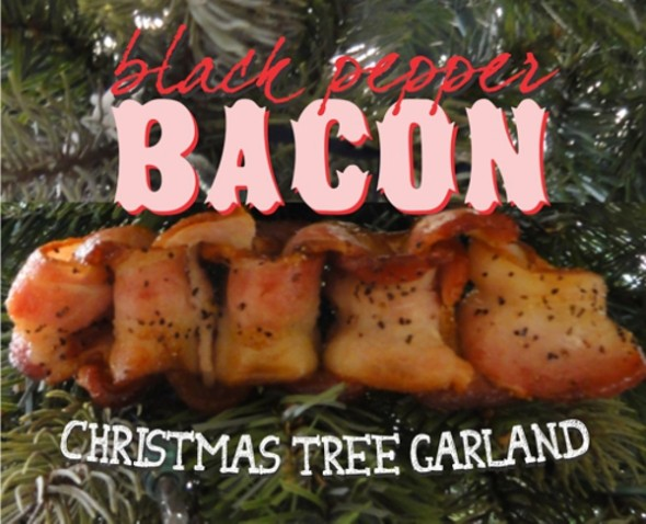 How-To: Holiday Bacon Garland