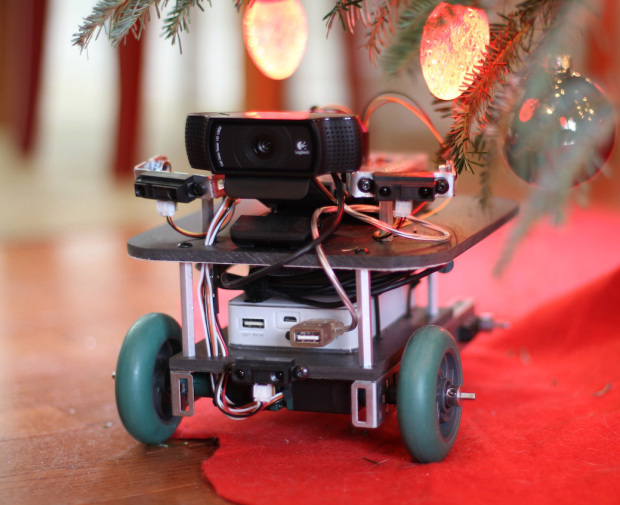 Making Fun: Color-Hunting, Christmas Tree-Controlling CheerBot