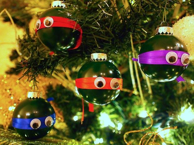 How-To: Ninja Turtle Ornaments