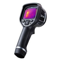 """Flir released a new line of no-frills thermal imaging cameras earlier in the year, with the E4 being the most affordable at $995. We bought one, followed the instructions posted on the EEVBlog forum, and were successful in boosting the thermal sensor resolution from 80 x 60px to 320 x 240px! Here are some E4 thermal images from """"before"""" and """"after"""" the software mod."""