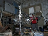 Read more >> Jaime finally completed his Giant Robot Project.