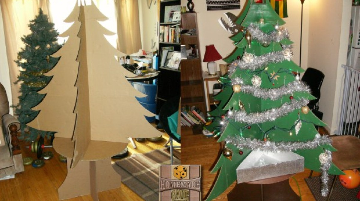 Cardboard Christmas Tree.The Beauty Of The Ultimate Cardboard Christmas Tree Make