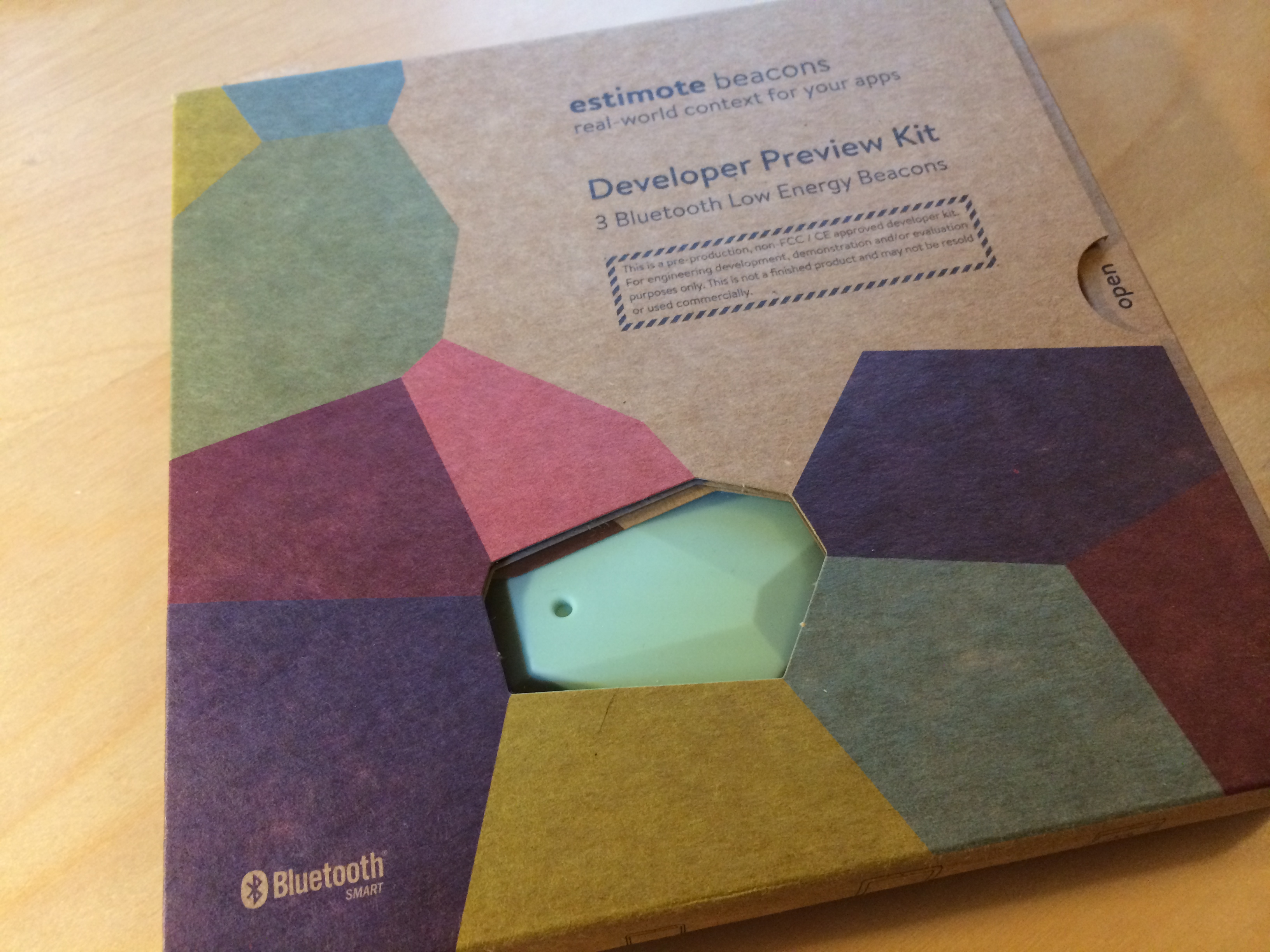 Reverse Engineering the Estimote