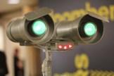 Florida Robotics' Tagi robot entertains the crowd.