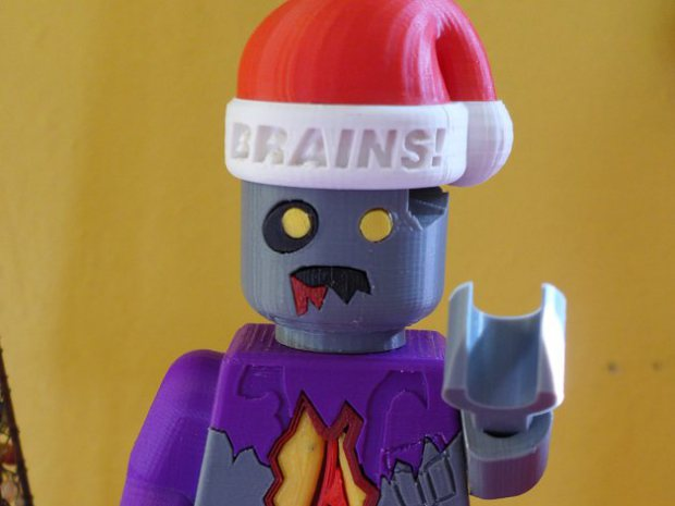 Print Your Own D*mn Presents: Minifig Madness!