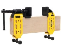 """Stanley's 2x4 clamp will turn any standard 2"""" x 4"""" (1.5"""" x 3.5"""" nominal) wood stud into an adjustable bar clamp. Reverse the direction of the jaws and you have an adjustable spreader."""