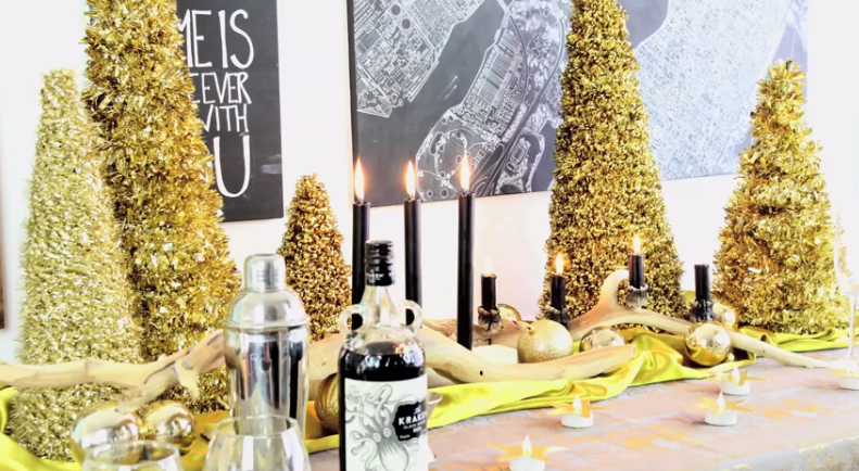 Easy New Year's Eve Decor on a Budget