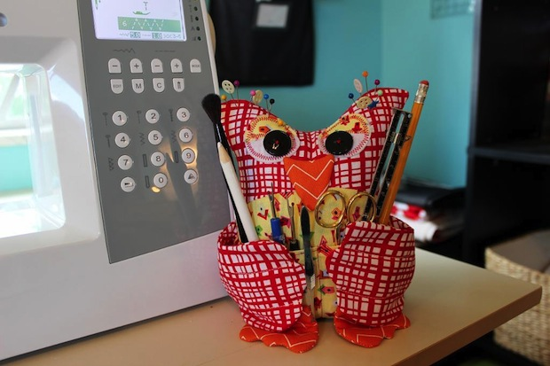 How-To: Owl Craft Supply Caddy