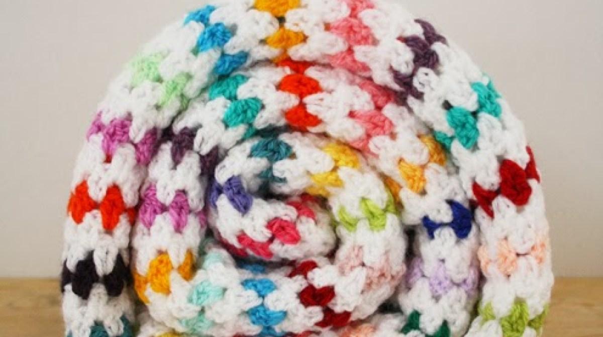 How-To: Diamond Stitch Blanket