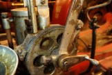 Steam-powered generator gear