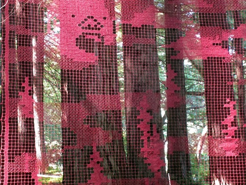 "Handmade ""Fog Catcher"" Installation"
