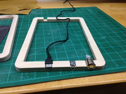 Cutting in the rest of the components.