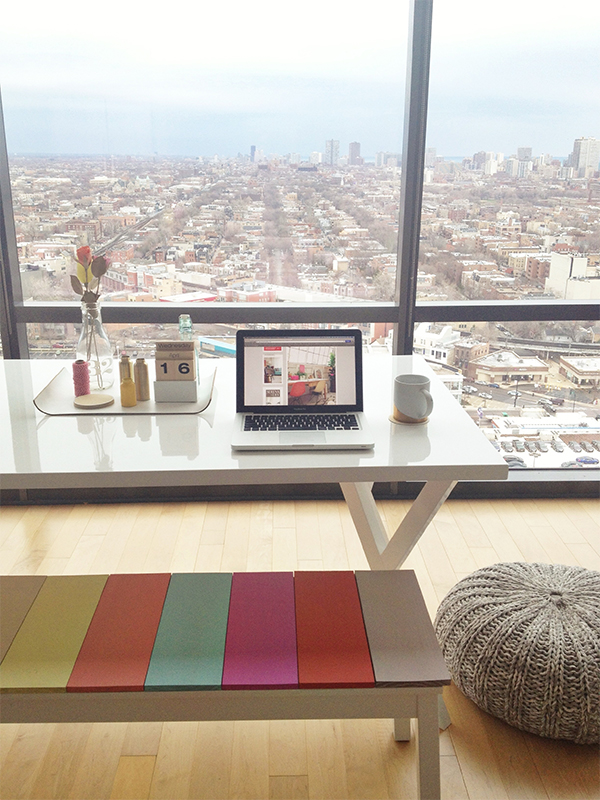 How-To: Color Block Benches