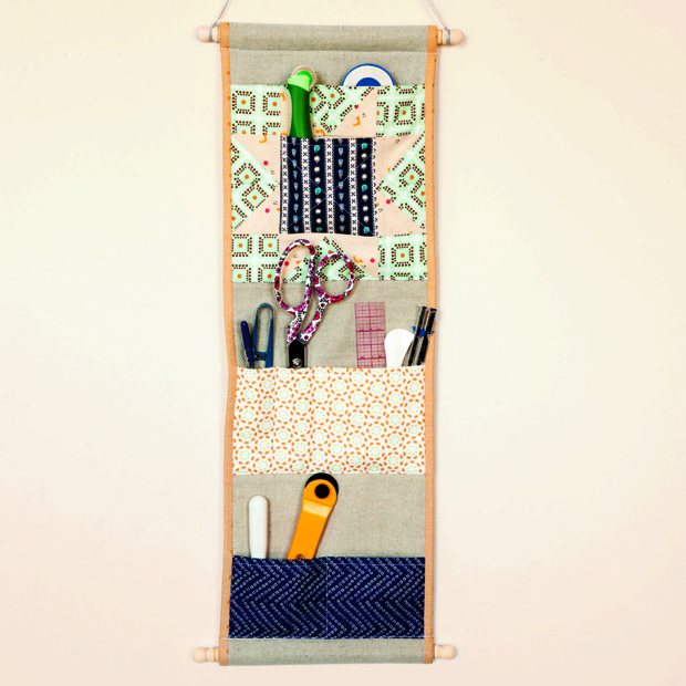 Flashback: Quilting Happiness Project Excerpt: The Pocket Wall Caddy