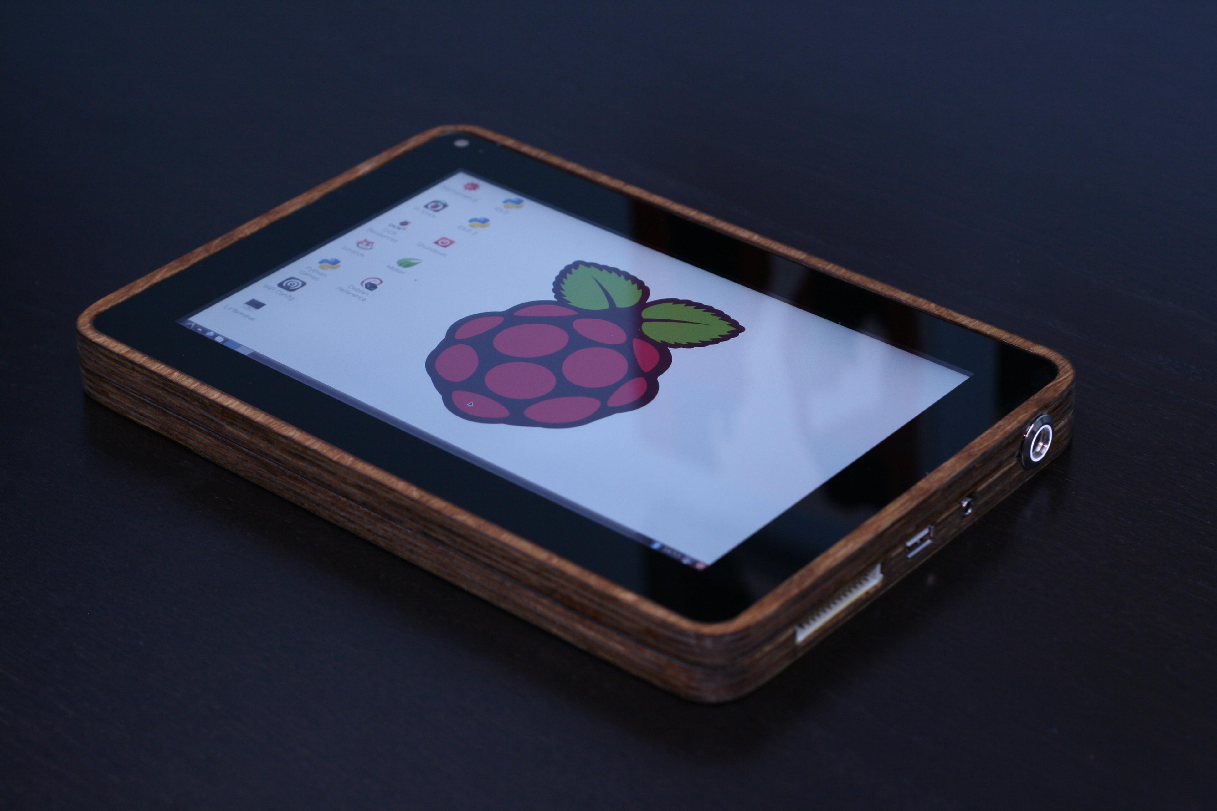 How I Built a Raspberry Pi Tablet