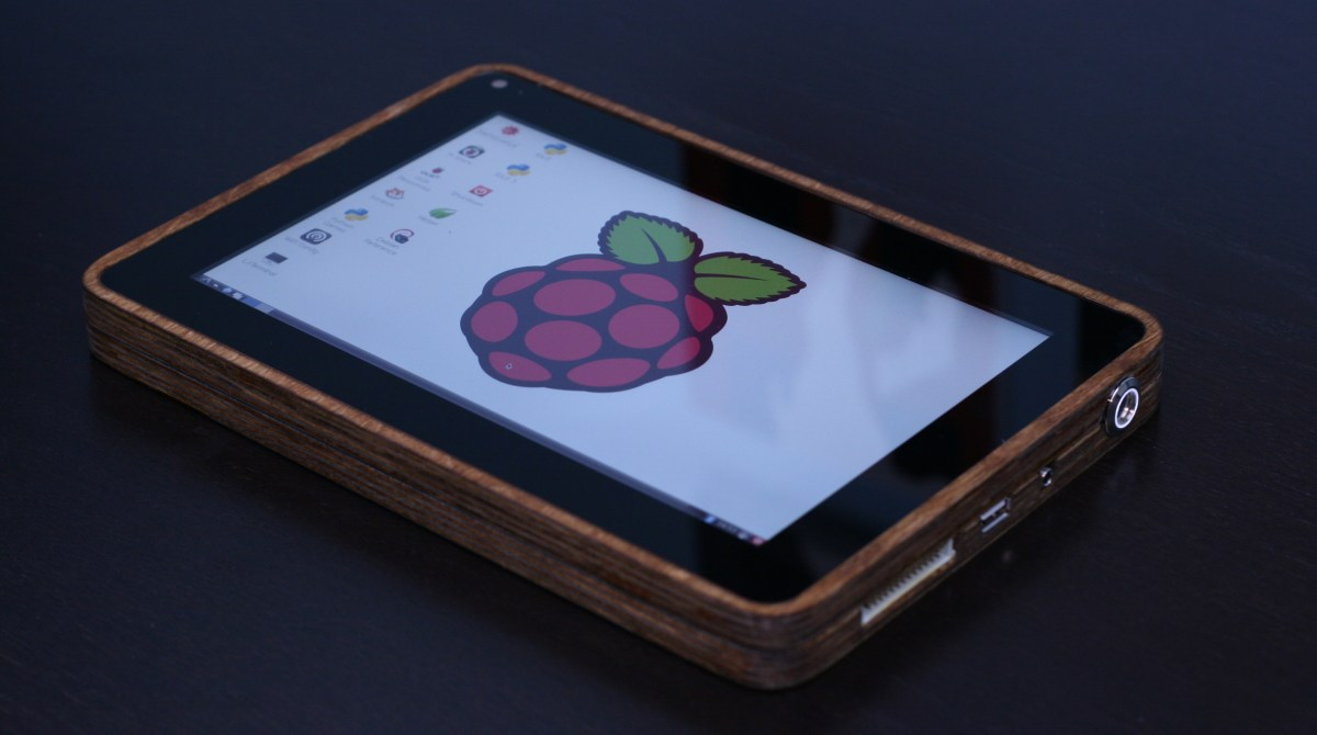 How I Built a Raspberry Pi Tablet