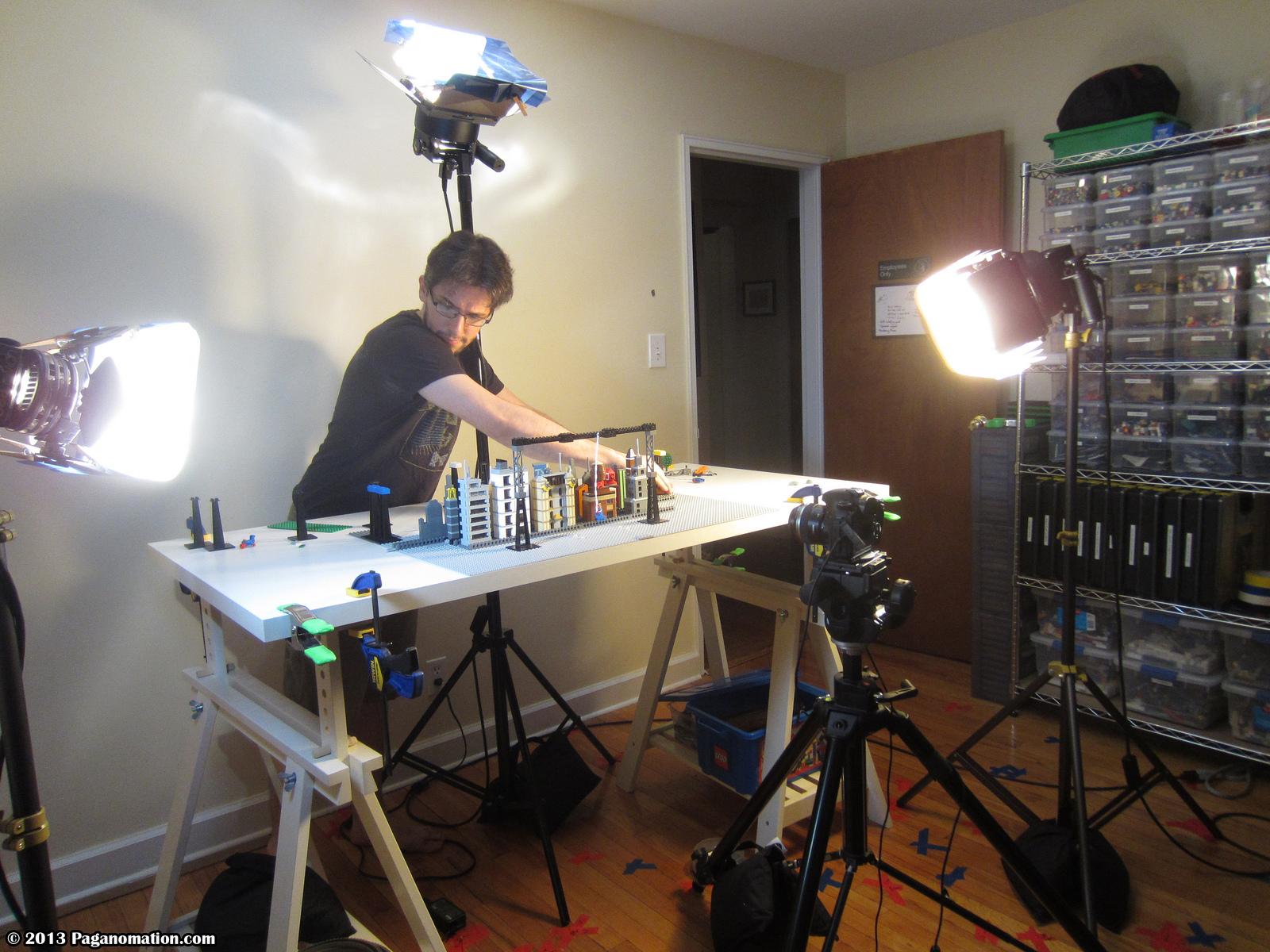 Make Interviews Lego Moviemaker David Pagano