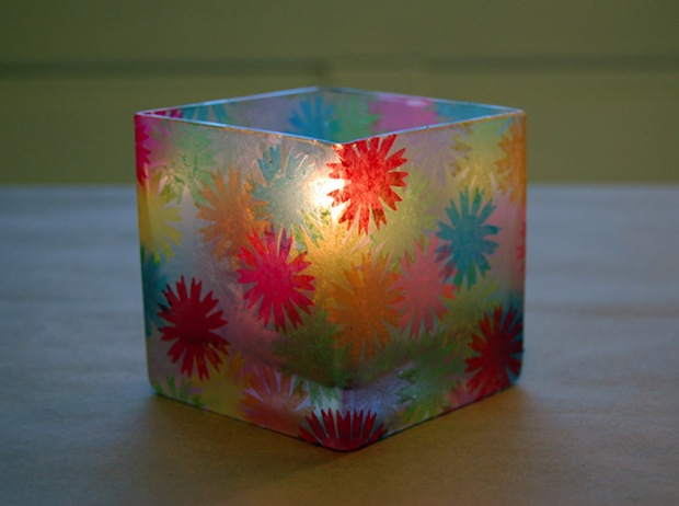 """Flashback: """"Stained Glass"""" Votive Holders"""