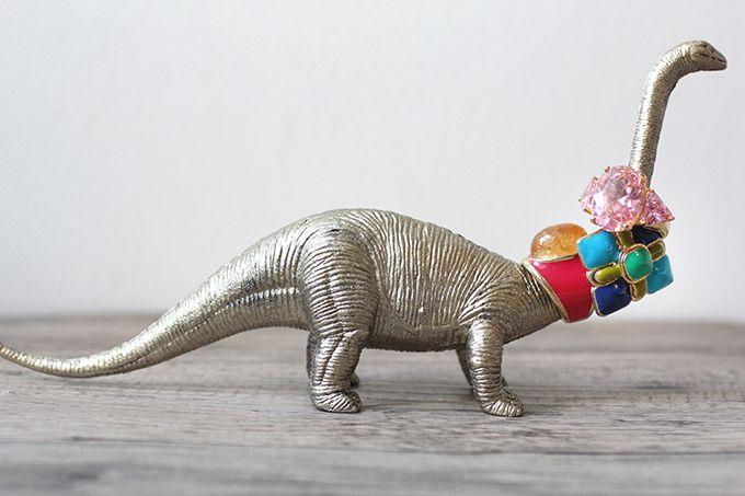 Dinosaur Ring Holder