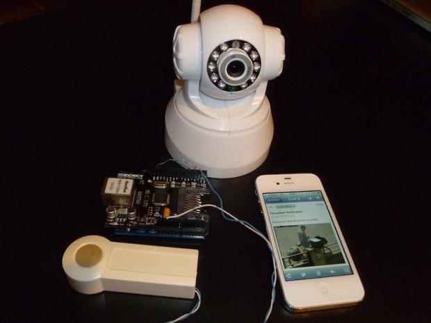 Notifying Doorbell with PushingBox   Make: