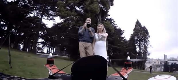 Droneposal: The World's First Marriage Proposal by Drone?