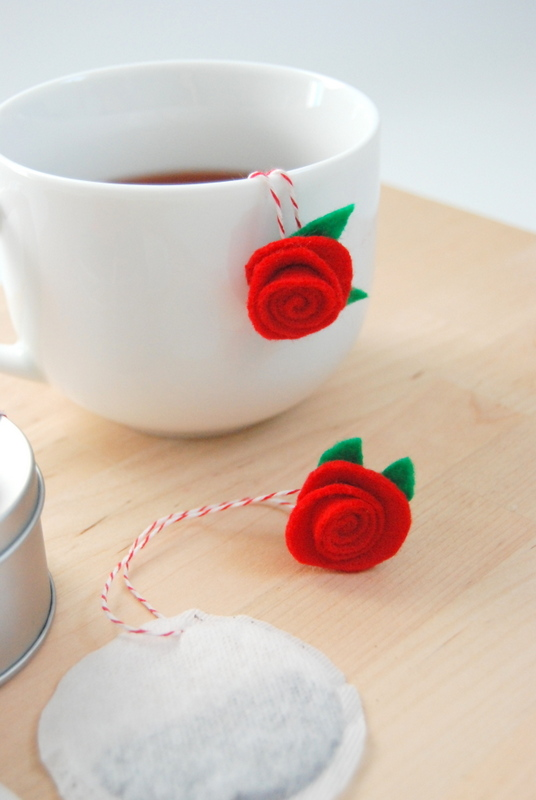 How-To: Custom Vantentine's Day Tea Bags