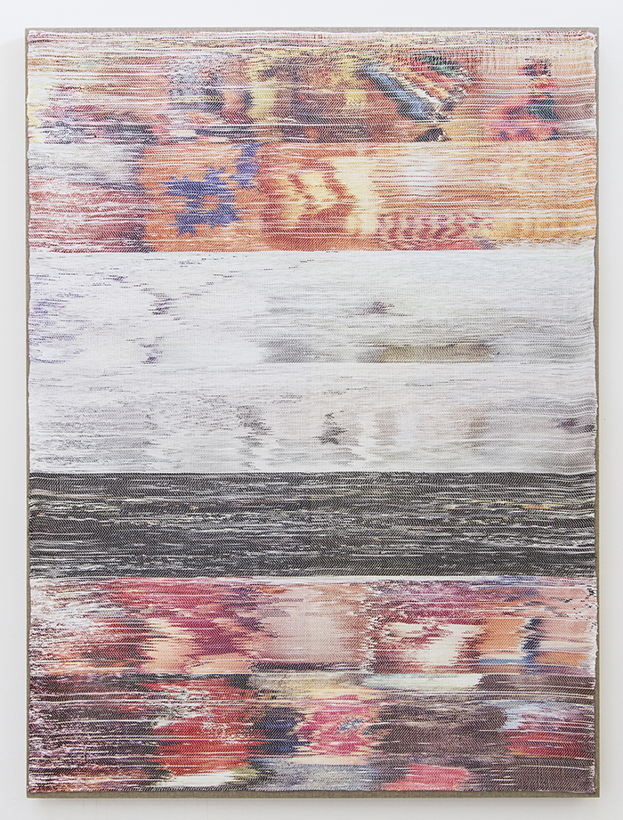 Glitch-Inspired Textiles Woven By Hand
