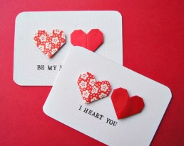 A well designed card is a perfectly acceptable gift—as long as your write something sweet inside. Check out thisproject from Omiyage Blogs.