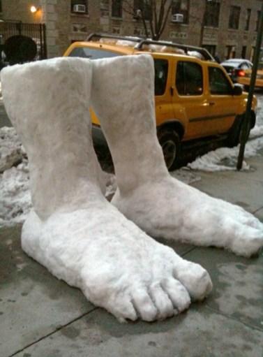 Two feet of snow. 'Nuff said.