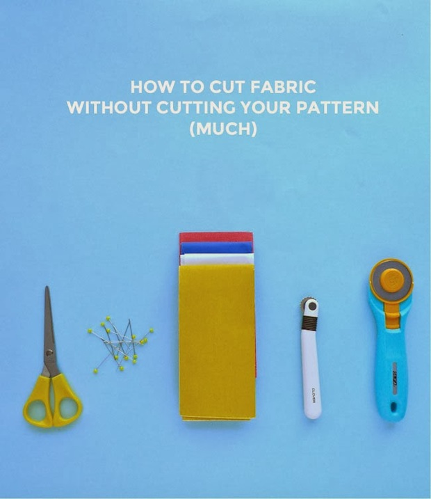 How-To: Cut Fabric While Leaving the Pattern Intact