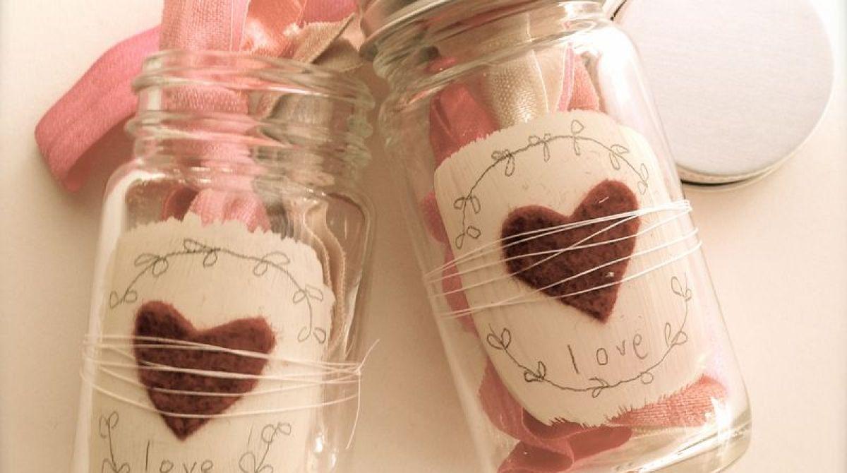 Valentine's Day Jars
