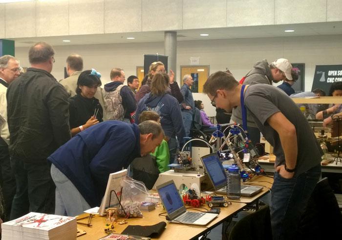The Makerspace Workbench at the NoVa Mini Maker Faire