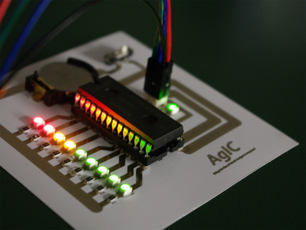 Simple Circuit Board For Kids Making Printed Circuit Boards Robot