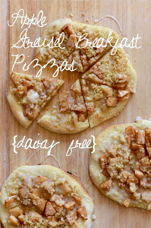How-To: Apple Streusel Breakfast Pizza