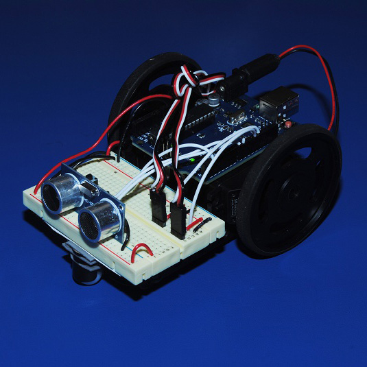 How to Build a Simple Arduino Robot  Make