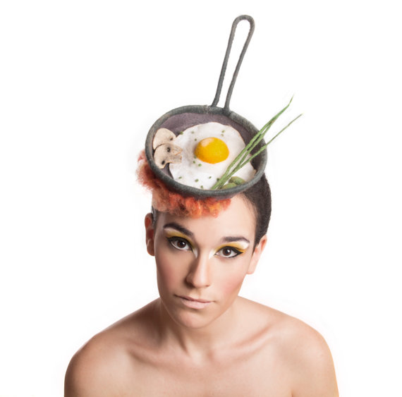 Food-Themed Fascinators Made From Felt