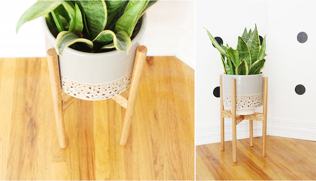 Build It: Wooden Plant Stand