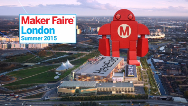 Announcing our Third Flagship Maker Faire—London!
