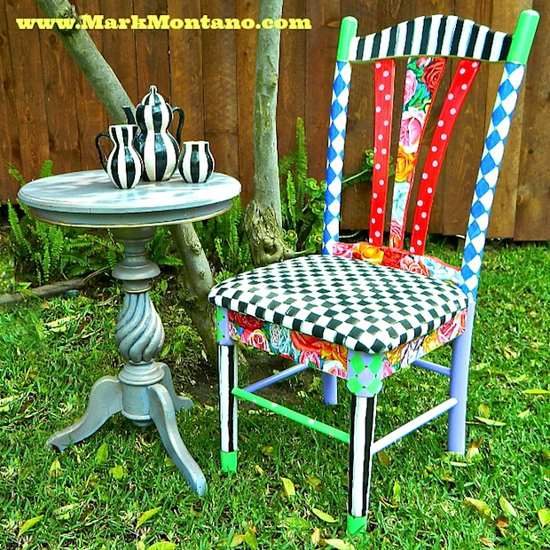 How To Alice In Wonderland Inspired Chair Make