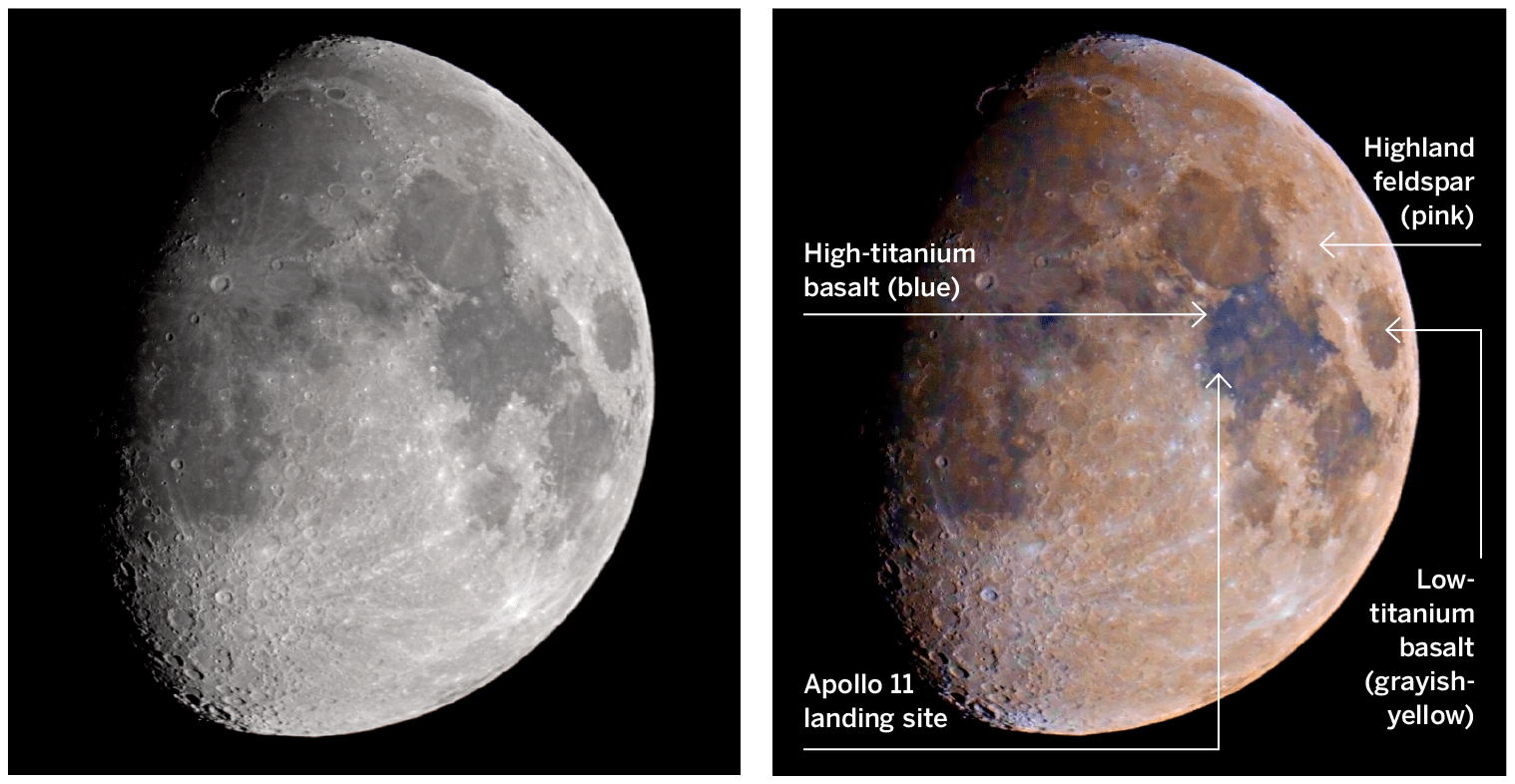 Map the Chemical Composition of the Moon
