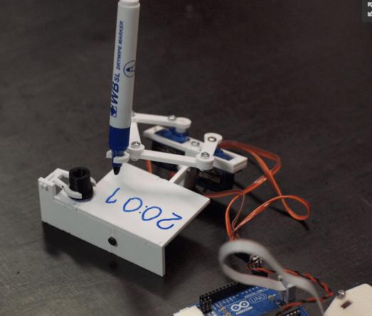 Building a Plotclock-Inspired Line Following Bot