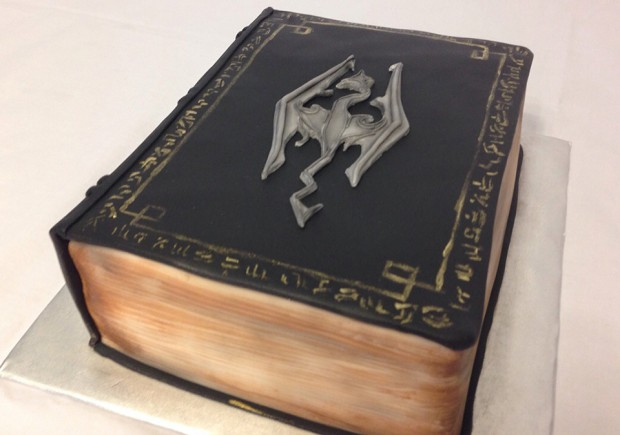 Skyrim Book Cake | Make: